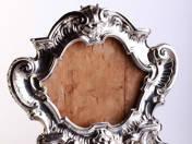 Antik ezüst tükörkeret