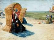 Izsák Perlmutter: On the Beach