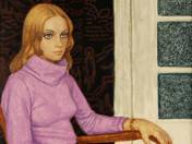 Girl in Purple Pullover