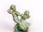 Komlós kerámia - Táncoló pár