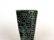 Gorka váza hal dekorral