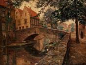 Detail of Bruges