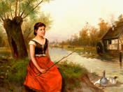 Goose Shepherd Girl
