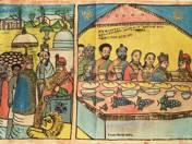 Solomon császár vendégeket fogad (1970-es évek, Etiópia)