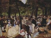 Édouard Manet. Music in the Tuileries