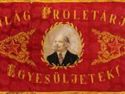 Pilisvörösvár MSZMP Községi Szervezete zászló