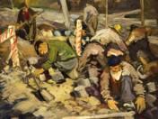 Kőrakó munkások