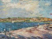 Francia tengerpart