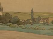 Kalotaszeg látképe
