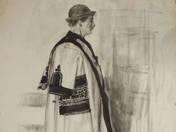 Kalotaszegi népviseletes férfi
