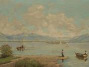 Hálóvető halászok