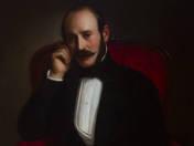 Biedermeier férfiportré