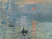Claude Monet - Impresszió, Felkelő Nap