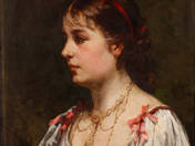 Fiatal lány arcképe