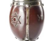 Judaika etrogtartó