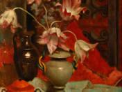 Csendélet tulipánokkal