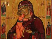 Istenanya a Gyermekkel ikon