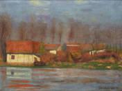Vízparti házak