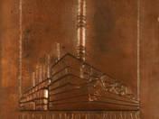Tiszai Erőművállalat Leninváros-relief