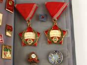 Szocialista kitüntetések és kitűzők (25 db)