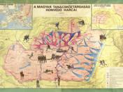 Iskolai térkép 1919-es Tanácsköztársaság harcai