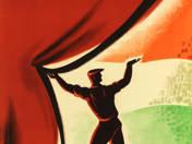A kultúrversennyel is a szocializmust építed plakát
