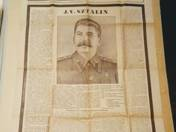 Sztálin halála. Különkiadás. Szabad Nép, 1953. március 6., péntek