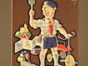 Úttörővasutas plakát