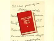 Politikai könyvvásár plakátterv