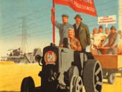 Mezőgazdasági állatvásár plakát