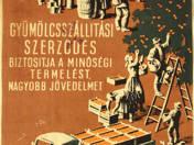 Gyümölcsszsállítási szerződés plakát