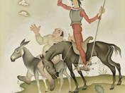 Don Quijote és Sancho Panza
