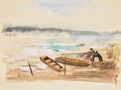 Halászok a parton