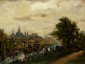 Párizsi alkony