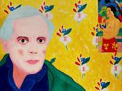 Bartók Béla a Kékszakállú herceg várán gondolkodik Paul Gauguin műtermében