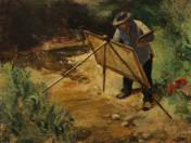 Festő a szabadban