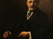 Herczeg Ferenc portréja