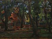 Művészház kertje