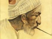Keleti férfi portréja