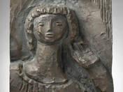 Rezső téri templom oldal relief