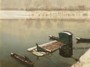 Csónakok a Tiszán