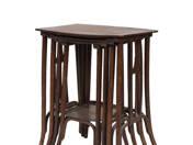 Thonet asztalkák 4 db