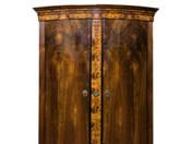 Biedermeier szekrény Zsolnay Vilmos hagyatékából