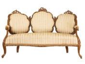 3 darabos Louis Philippe stílusú ülőgarnitúra