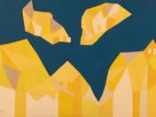 Sárga-kék kompozíció
