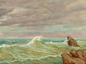 Hullámzó tenger
