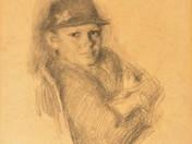 Fiú kalapban
