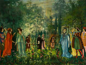 Reneszánsz jelenet