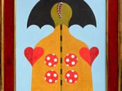 Ikon esernyővel (2000)