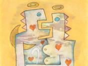 Szerelmes szoborterv vakbottal